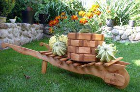 Садовая архитектура из дерева