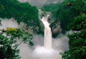 Водопад в Эквадоре