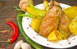 Куриные котлеты с имбирём и чили – жаркое в восточном стиле