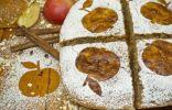 Запеканка творожная с яблоками и геркулесом