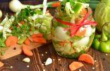 Салат из маринованных овощей на зиму