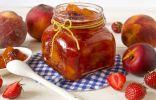 Ягодно-фруктовый джем из персиков, клубники и нектаринов