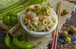 Рис «Жасмин» с цуккини и оливками