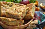 Пирог с грибами на кефире