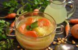 Овощной суп на молочной сыворотке «Сырбушка»