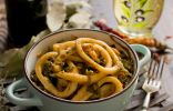 Кальмары по-корейски — вкусный салат из морепродуктов