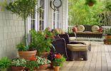 Флористический стиль оформления зоны отдыха