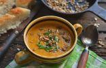 Суп-пюре с кабачком и курицей