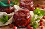 Густое малиновое варенье с целыми ягодами