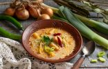 ЯЛёгкий рыбный суп из минтая