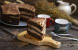 Изумительный шоколадный торт от Энди Шефа с кремом «Патисьер»