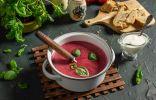 Нежный суп-пюре из свёклы