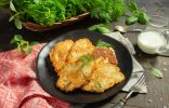 Драники с курицей — сочные картофельные оладьи на скорую руку