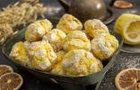 Рассыпчатое лимонное печенье с трещинками