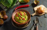 Мексиканский картофельный салат с авокадо