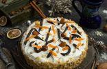 Вкусный ореховый торт с меренгой