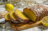 Сладкий лимонный хлеб с румяной корочкой
