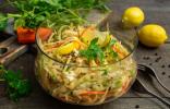 Детокс-салат из свежих овощей — генеральная уборка организма