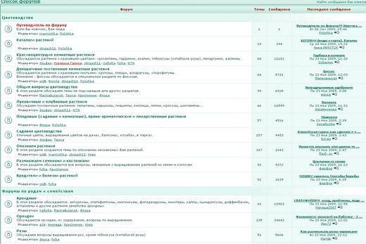 Скриншот сайта forum.bestflowers.ru