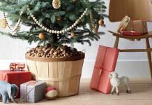 Новогодняя ёлка в горшке