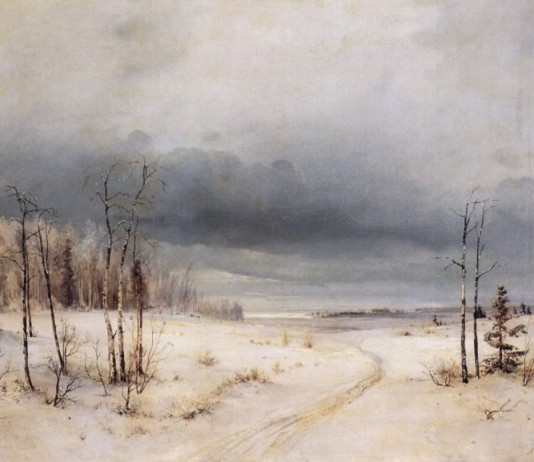 А. К. Саврасов, Зима (1870г.)