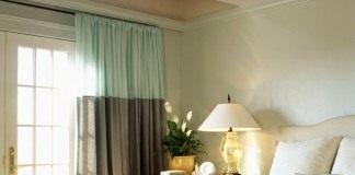 Комнатные растения в интерьере спальни