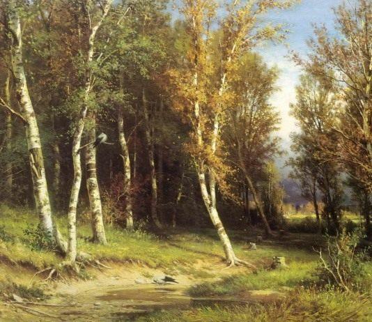 И. И. Шишкин «Лес перед грозой». 1872 г.