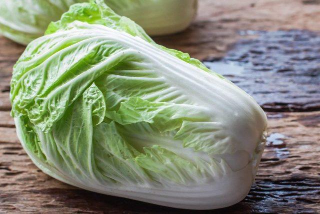 Съедобная зелень пекинской капусты