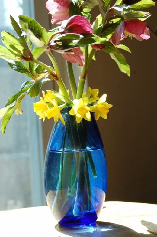 Букет ранних, весенних цветов