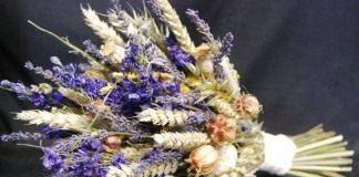 Букет из сухих цветов