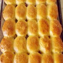 Подрумянившиеся пирожки готовы