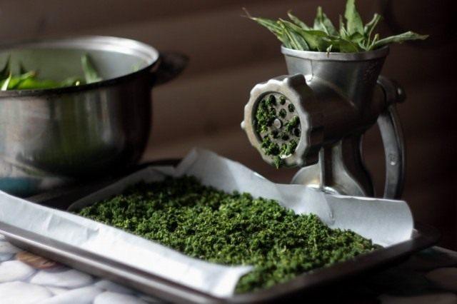 Подготовка листьев к ферментации