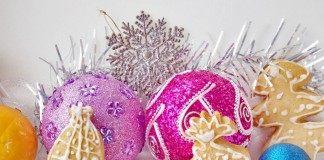Новогодние имбирные пряники с глазурью