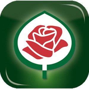 Эмблема Allgemeine Deutsche Rosenneuheitenprufung (ADR) — генерального немецкого тестера новых сортов роз.