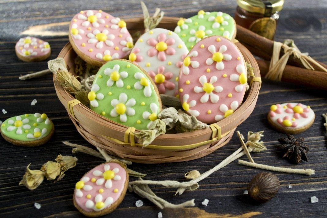 Пасхальное печенье рецепты с фото