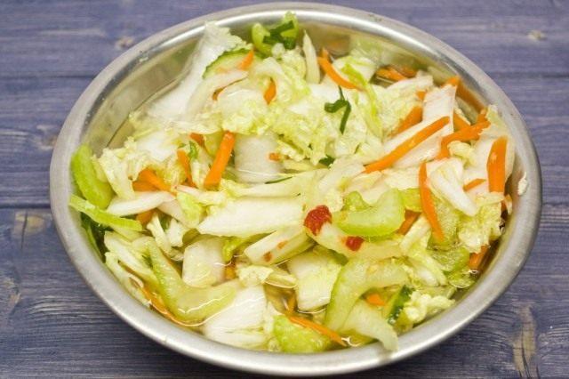 Оставляем овощи ферментироваться
