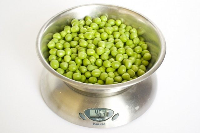 Зелёный горошек для консервирования