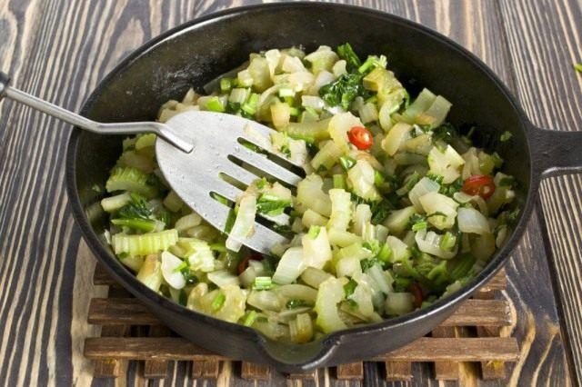 Готовые овощи довольно сильно уменьшатся в объёме