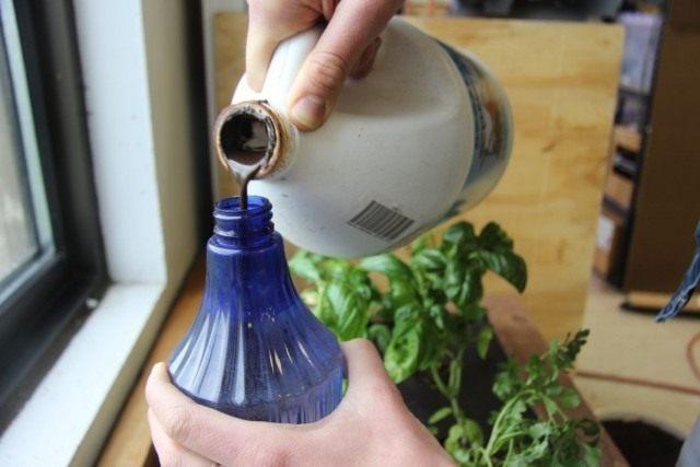 Жидкое гуматное удобрение для комнатных растений