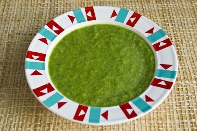 Добавляем в суп-пюре сливки