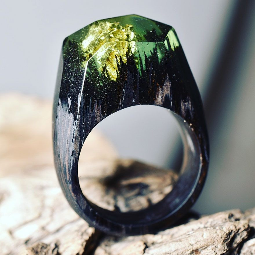 resin-rings-miniature-scenes-secret-forest-1