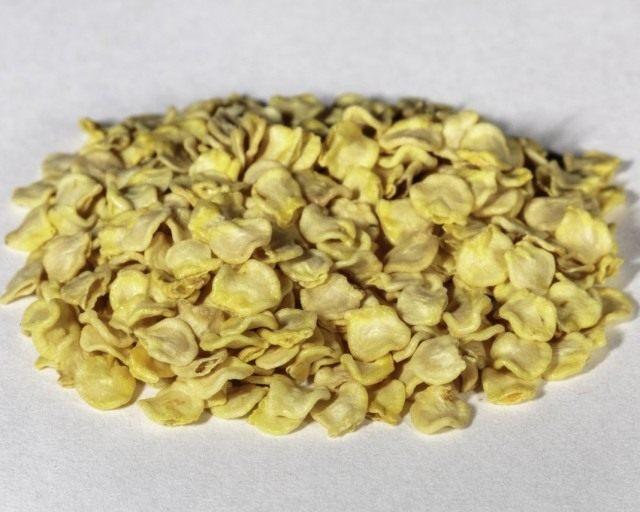 Собранные семена перца