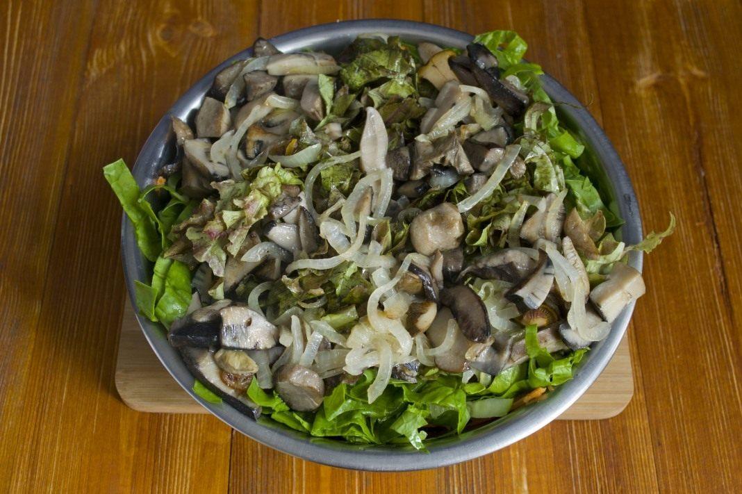 плоскостной театр салаты из грибов рецепты с фото пошагово есть