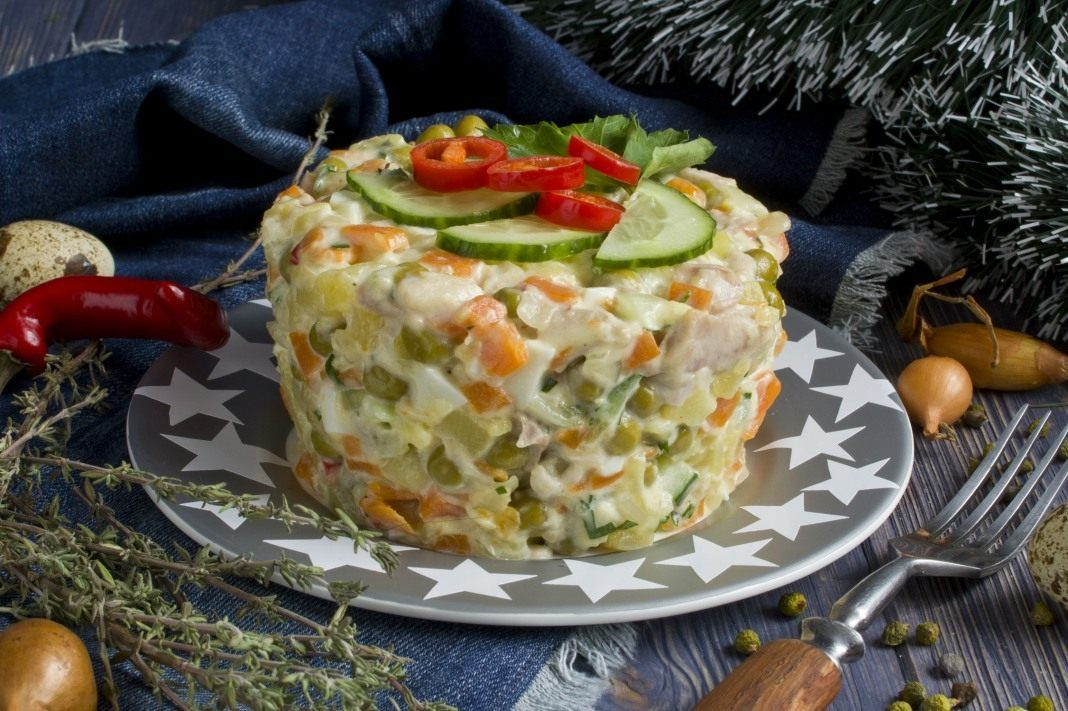 рецепты праздничного салатов картинки этого, есть