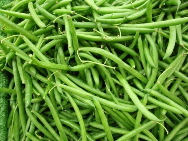 Зелёностручковая или спаржевая фасоль — недозрелые стручки фасоли обыкновенной