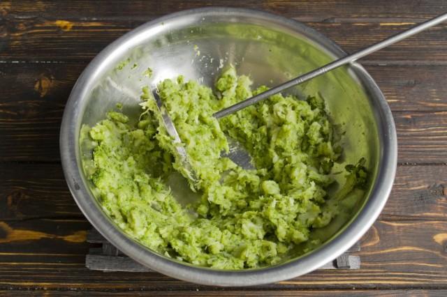 Готовим пюре из брокколи