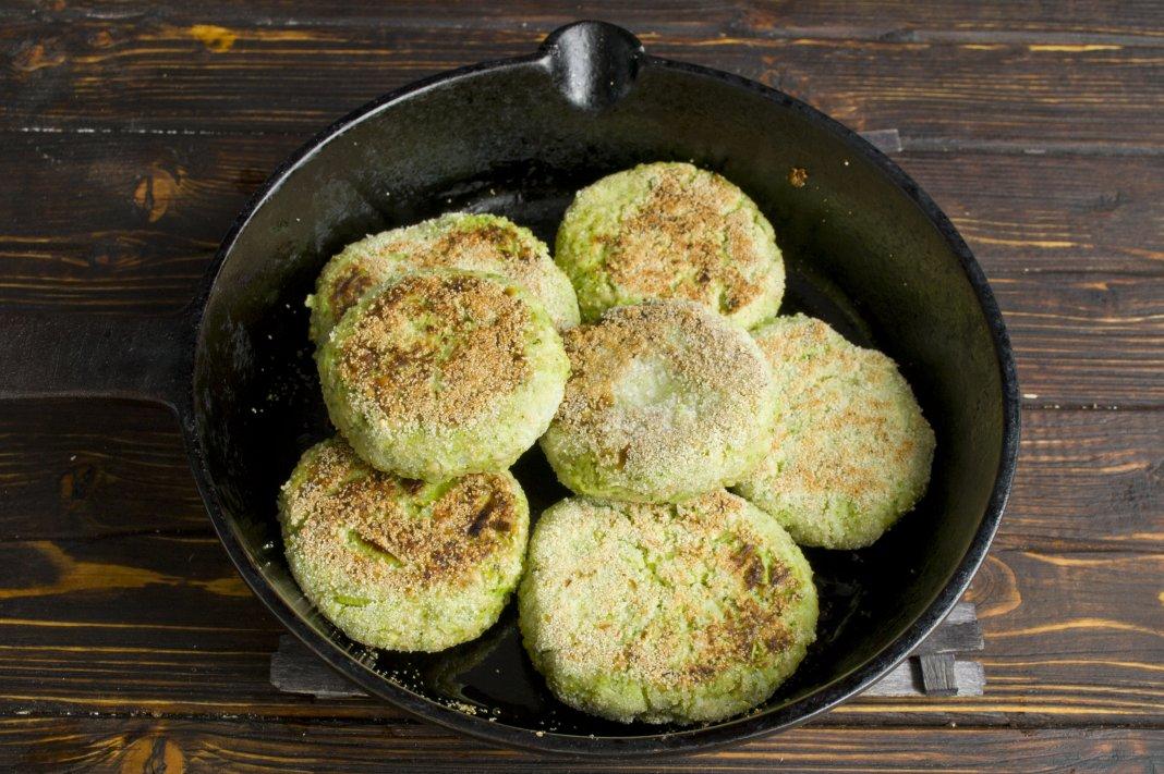 котлеты из брокколи рецепт с фото винить