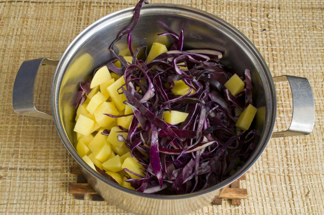щи из фиолетовой капусты рецепт с фото хоть
