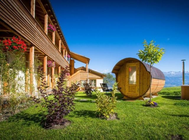 Сад в швейцарском стиле