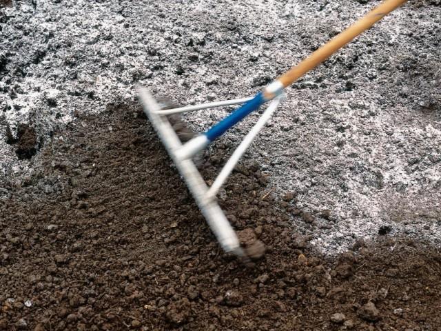 Раскисление почвы внесением извести